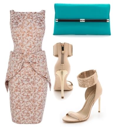 MIRANDA BOW DRESS