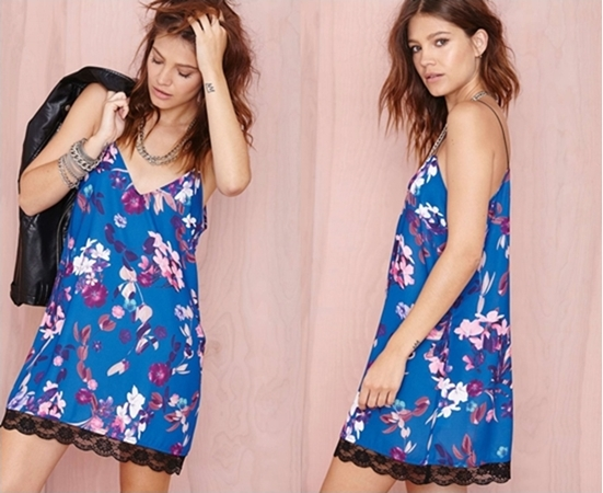Nasty Gal Stay on Tropic Dress