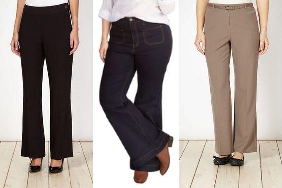 Best Pants for Voluptuous Pear Shape Body Type