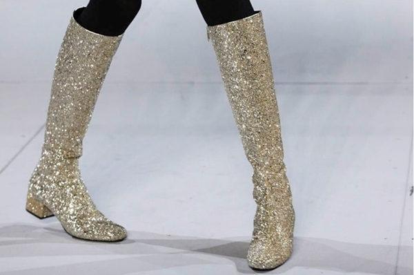 Sparkled Sixties Style Boots