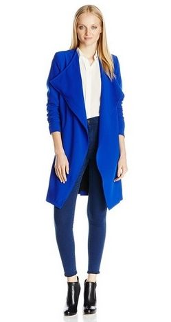 aryn K Women's Open Front Coat