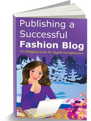 how to write a fashion blog