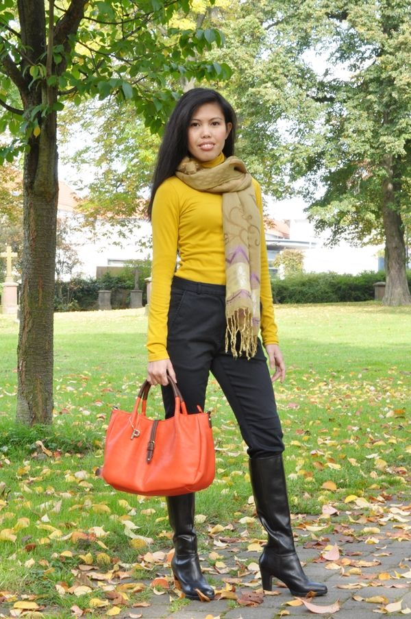 My Outfit – Equestrian Chic + Bright Colors for Fall