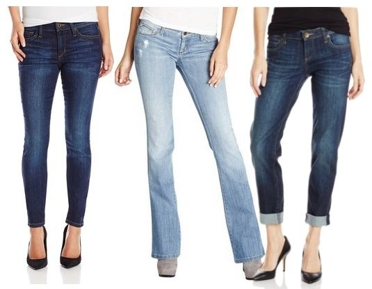 jeans for boyish shape with mascular frame