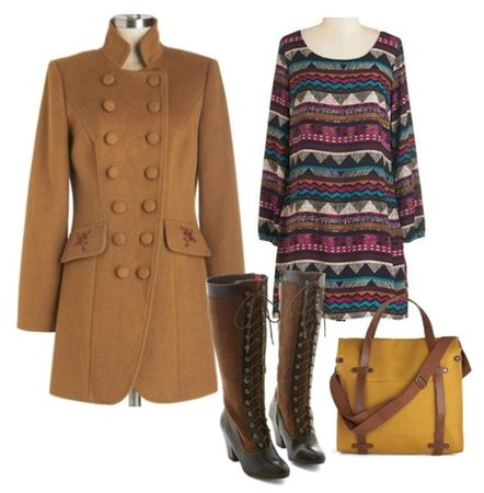 Fashionable and Cozy Mod Retro Styles for Winter Tell a Story