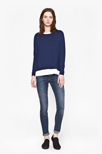 Chopin Jumper Worn with Casual Jeans and Sneakers