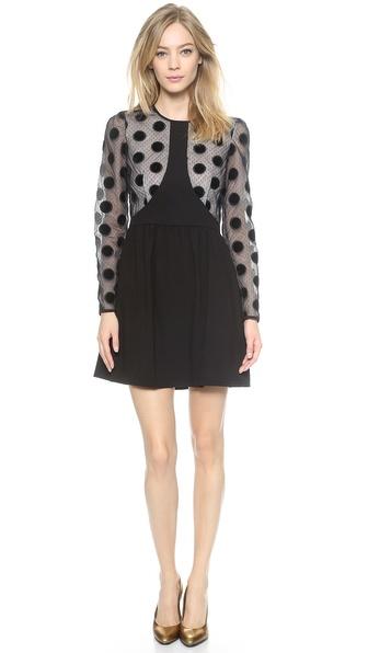 Jill Stuart Sonya Polka Dots Dress for Work
