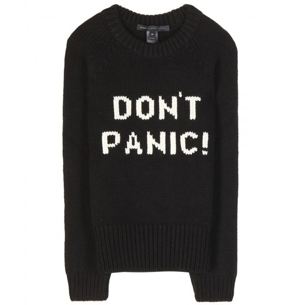 Marc by Marc Jacobs Don't Panic merino wool sweater