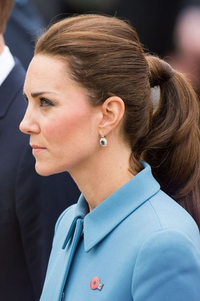 kate-middleton-ponytail-hairstyle-for-work