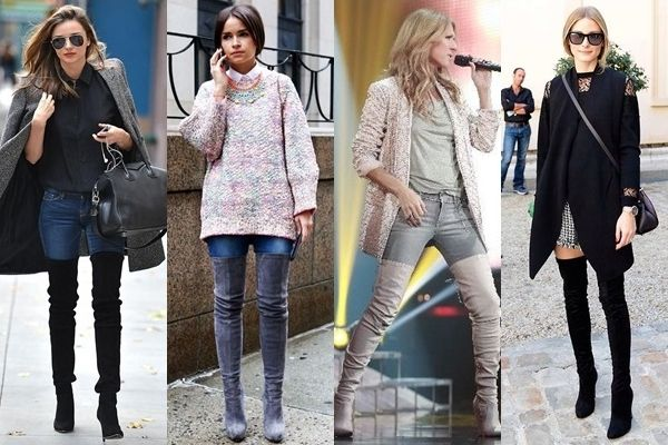 37fe33c9811 7 Fashionable Ways to Wear Thigh High Boots This Winter