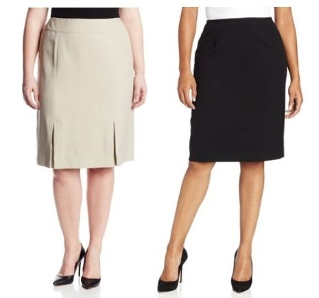 essentials pencil skirts for plus size women