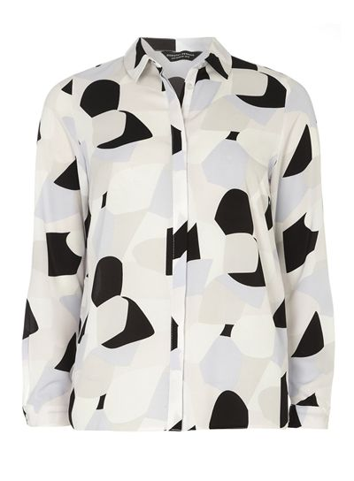 11 Work-Appropriate Printed Blouses and Shirts
