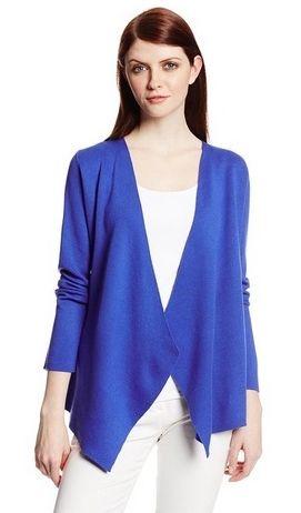 Jones New York Womens Long-Sleeve Open Cardigan Sweater