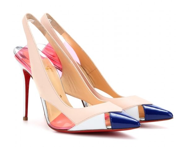 Christian Louboutin - Air Chance 100 leather pumps