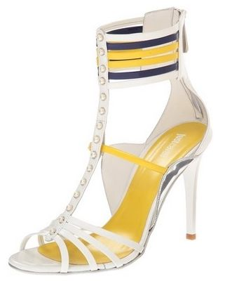 Just Cavalli Womens Strappy Jeweled Dress Sandal