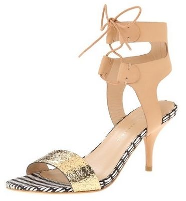 LOEFFLER RANDALL Womens Ambrose Lace Up Dress Sandal