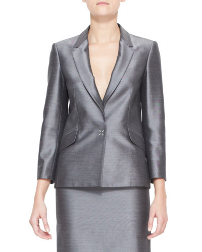 Suiting Blazer with Sheen