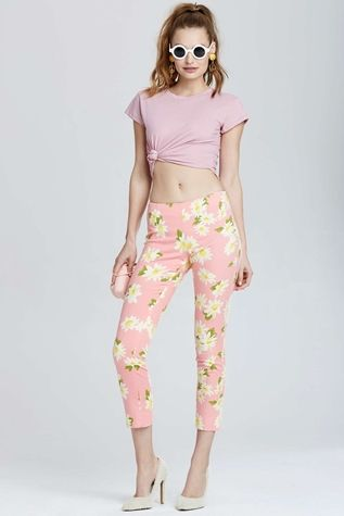 Vintage Moschino Pavia Floral Pant