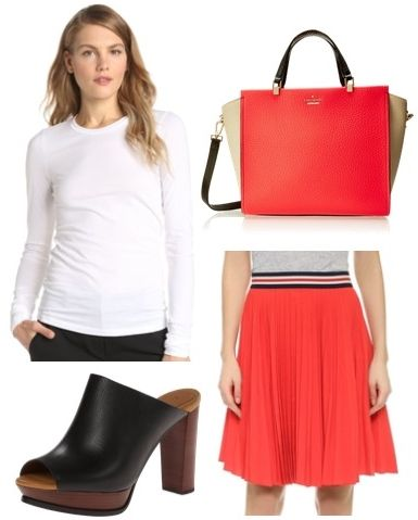 bright colorblock bag