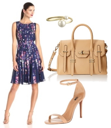 How to Wear Fit and Flare Pleated Dress
