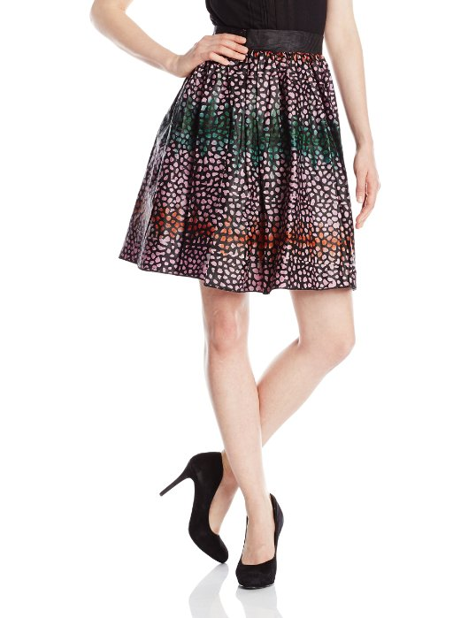 BUSAYO Womens Dots Skirt