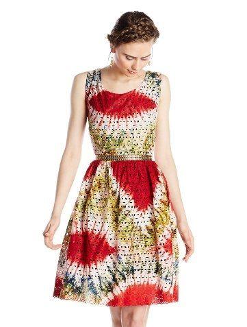 BUSAYO Womens Lace Dress