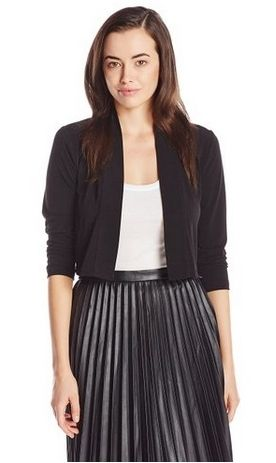 Calvin Klein Womens Basic Black Cardigan