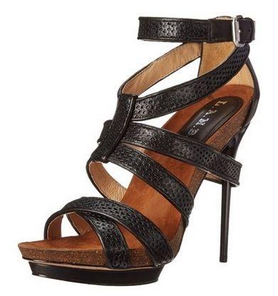 L.A.M.B. Womens Beatrice Textured Dress Sandal