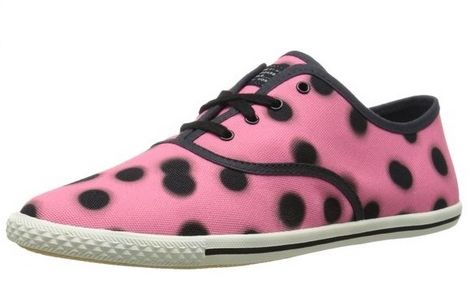 Marc by Marc Jacobs Womens Dots Lace Up Fashion Sneaker