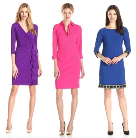 Bright Sleeved Dresses