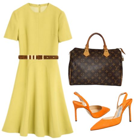 Cornel Fit-and-Flare Dress