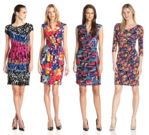 Irresistible Bright Print Dresses