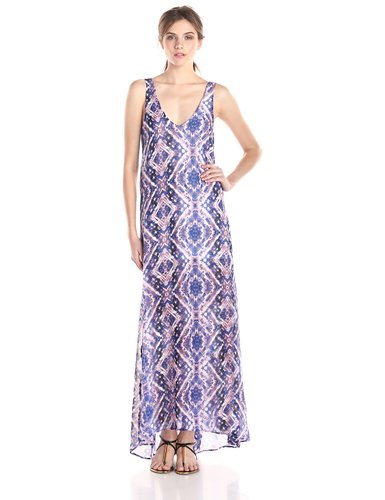 Show Me Your Mumu Womens Kiersten Purple Haze Maxi Dress