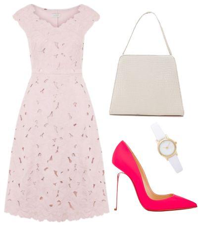 Textured Liliana Dress