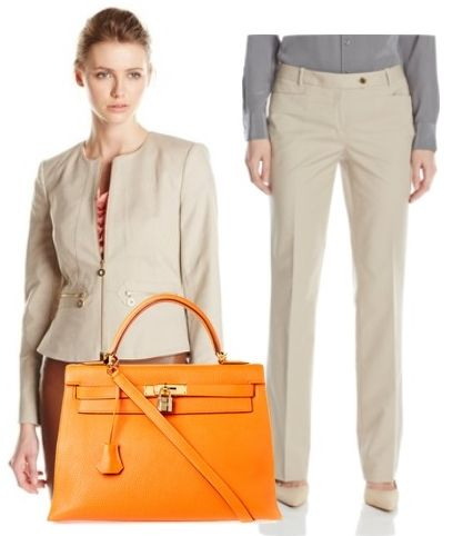 Two Piece Set Suit Jacket And Pants