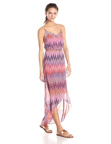 laundry BY SHELLI SEGAL Womens Tulip Hem Maxi Dress