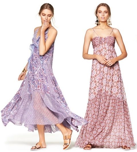 prettiest bohemian maxi dresses