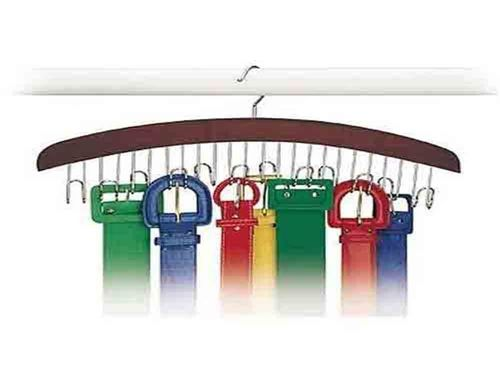 Closet Accessories 12 Belt Hardwood Hanger