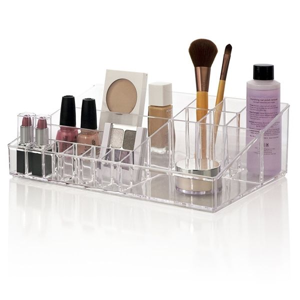 US Acrylic Audrey Cosmetic Vanity Organizer