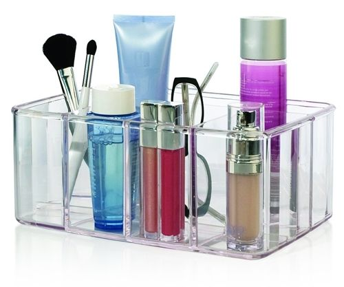 US Acrylic Vanity Organizer - 5 compartments
