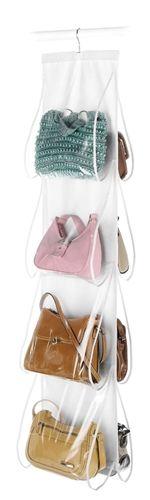 White Crystal Collection Handbag File