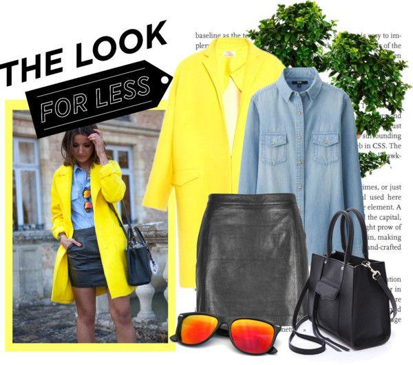Yellow + Black + Denim