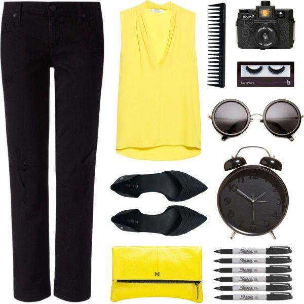 Yellow + Black