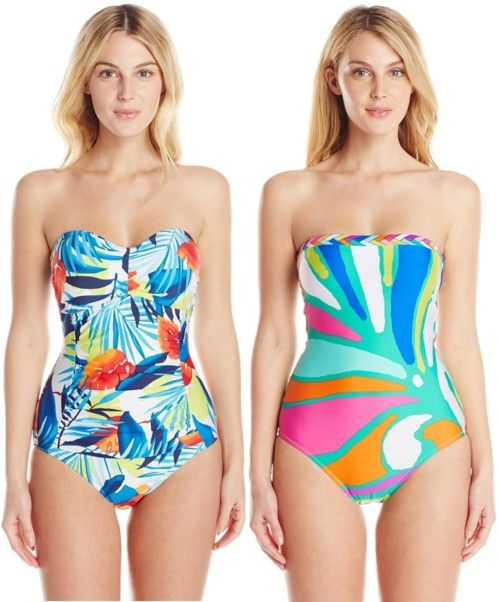 bright artistic multi print swimsuits3