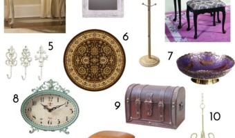 12 Fabulous Furniture and Home Decors for Antique Lovers