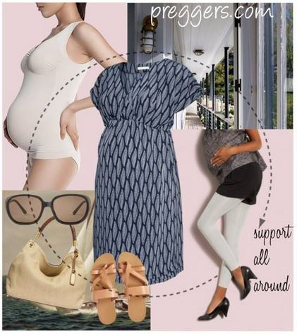snugly fitted outfits for pregnant women