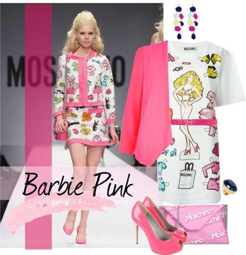Barbie t-shirt dress outfit