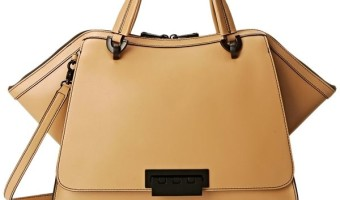 Spotted: Eartha Unlined Soft Double Top-Handle Bag By ZAC Zac Posen