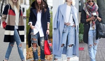 12 Ways to Wear the Distressed Denim Trend for Fall