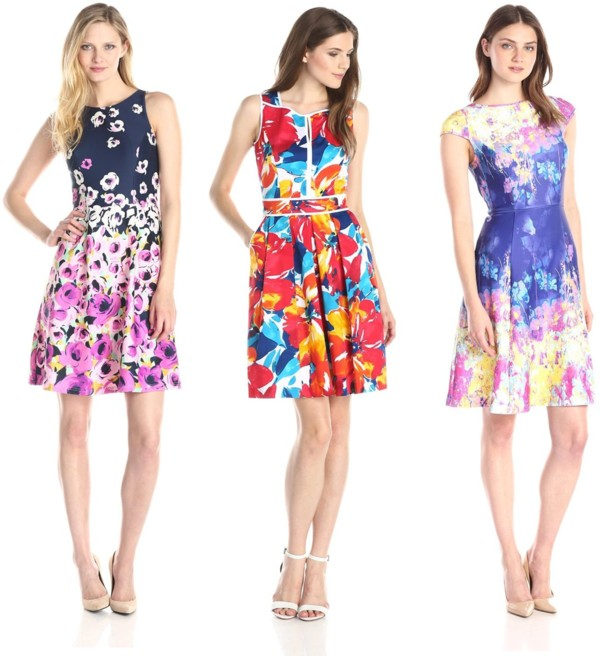 floral print fit and print